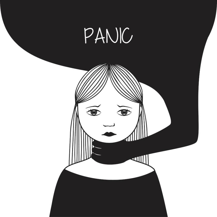 kaip atsikratyti panikos priepuolių su hipertenzija)
